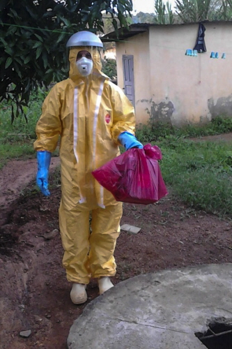 Europeiska Mobila laboratoriet i Guinea