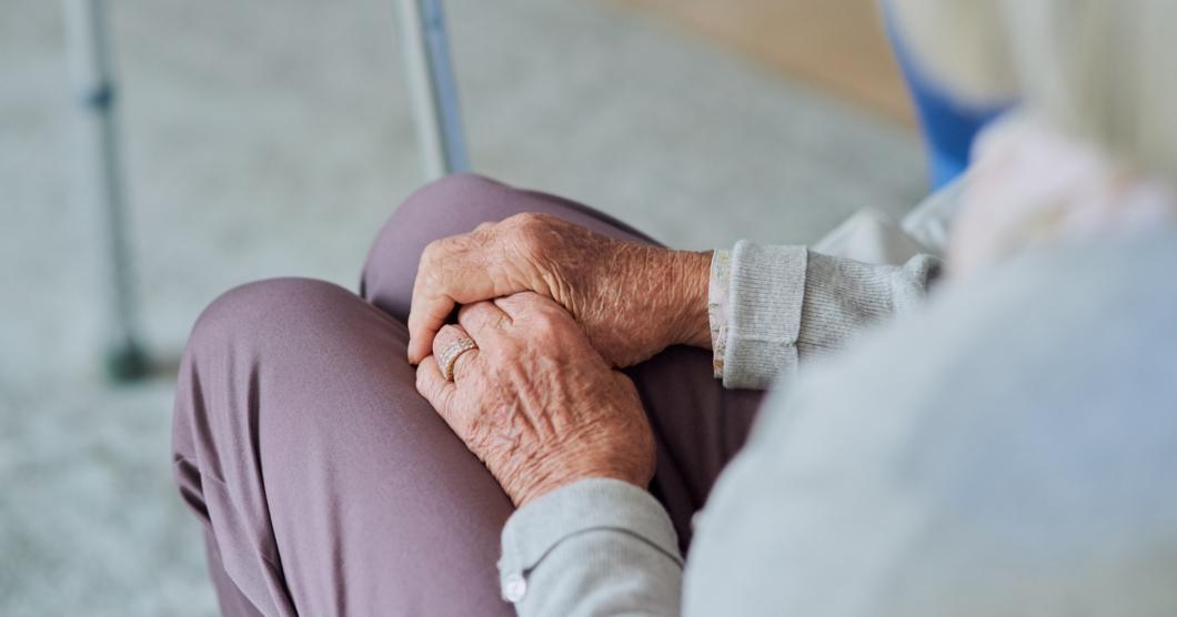 Studenter oroliga för praktik i äldrevården