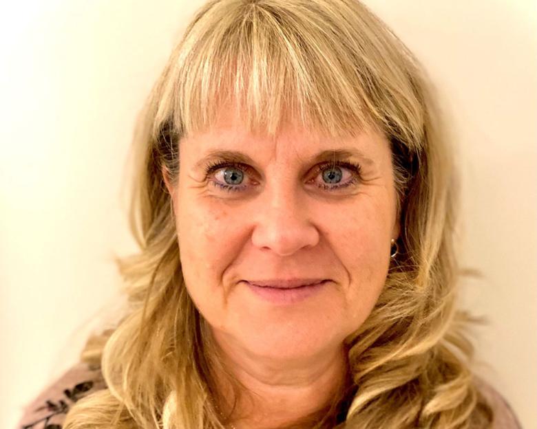 Porträtt av Helen Engström, biomedicinsk analytiker, Skoghalls vårdcentral, Region Värmland.