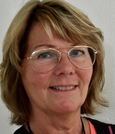 Inga-Lill Liback Joona, sjuksköterska på Furulidens äldreboende i Katrineholm.
