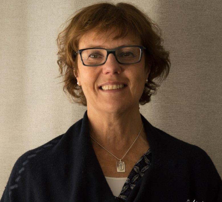 Porträtt på Lisbeth Wikström-Frisén