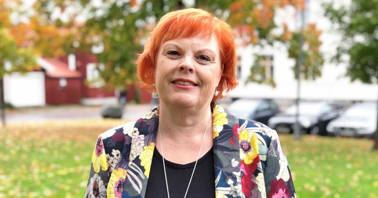 Porträtt av Tina Mansson Söderlund, vaccinsamordnare och biträdande hälso- och sjukvårdsdirektör i Region Gävleborg