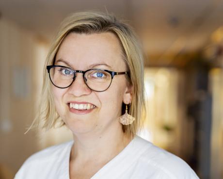 Anna-Maria Öhman, bvc-sjuksköterska