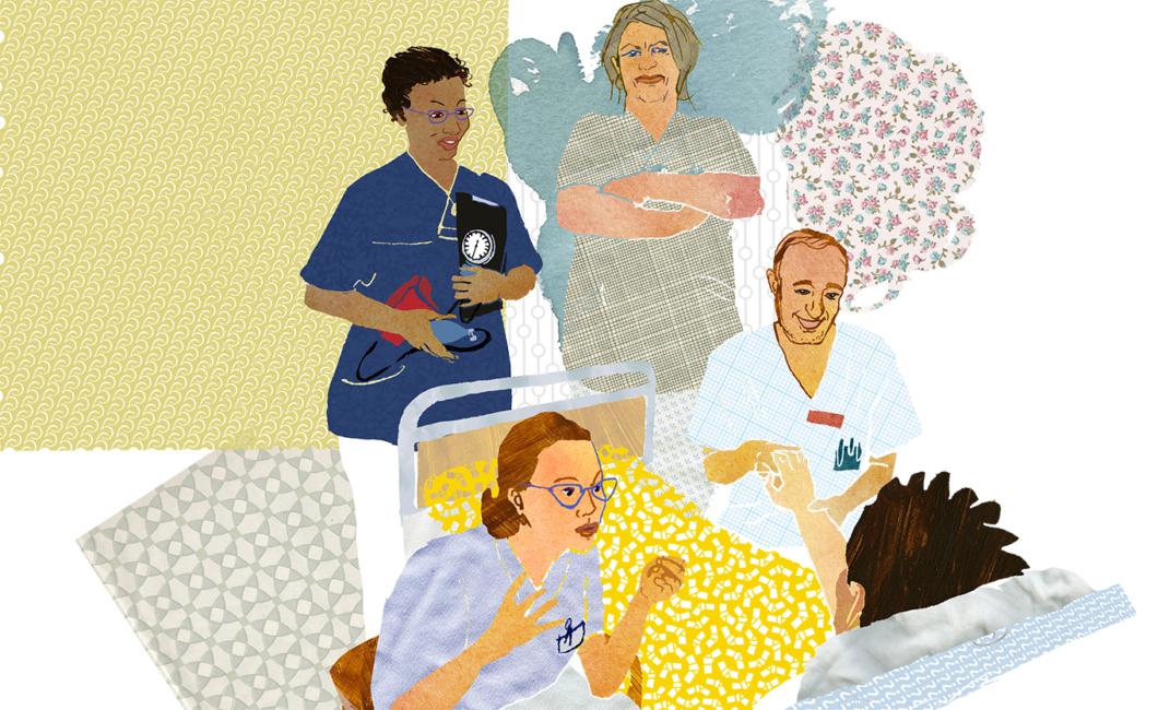 Så låter sjuksköterskans olika röster