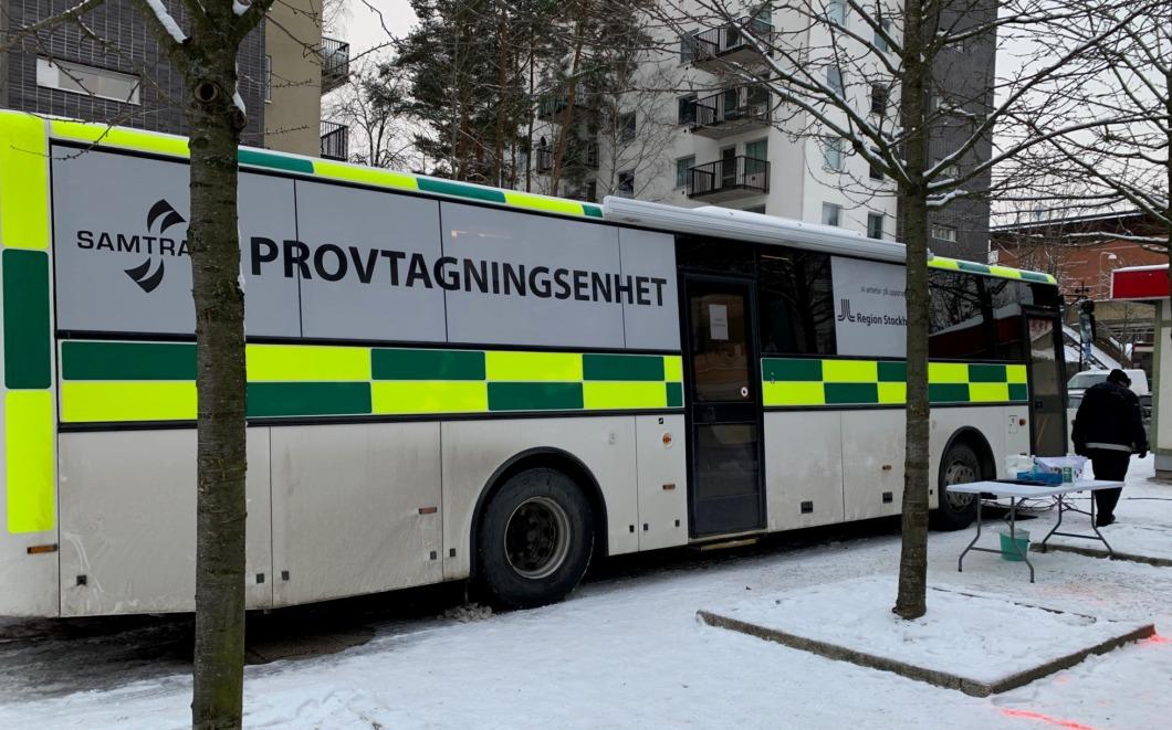 Nu ska det bli enklare att testa sig i Stockholm