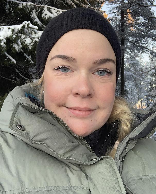 Anna Persson, röntgensjuksköterska