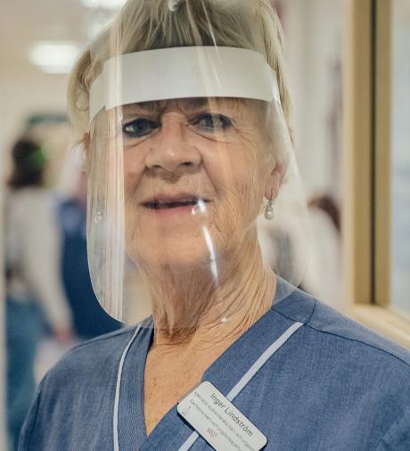Inger Lindström, pensionerad barnsjuksköterska