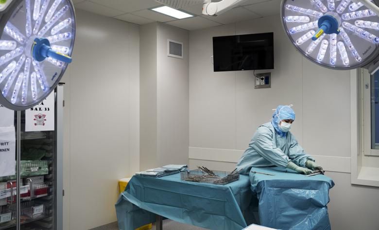 Natalie Nilsson, operationssjuksköterska