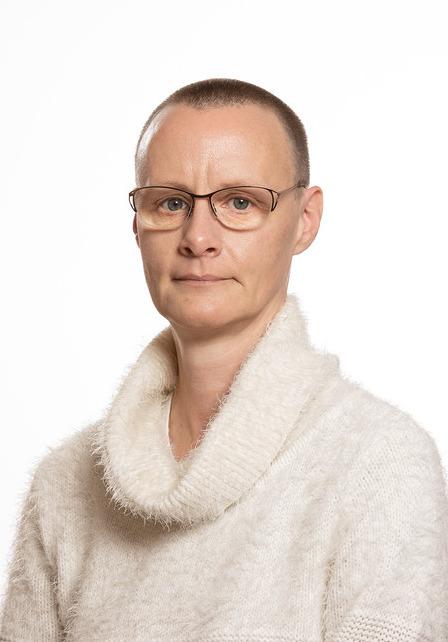 Porträtt av verksamhetschefen Marie Hermansson