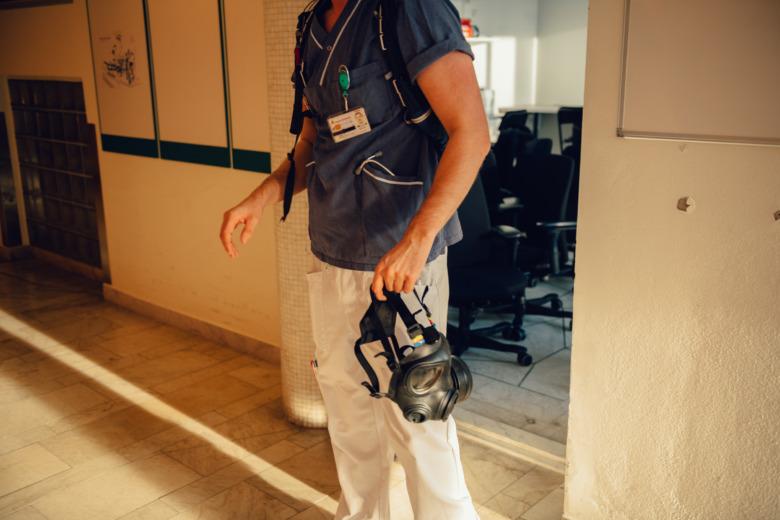Nicklas Granat, sjuksköterska