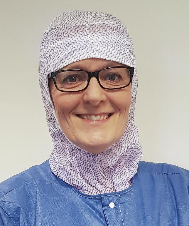 Lena Thoudal, operationssjuksköterska