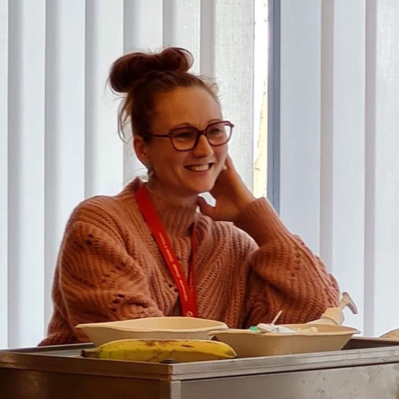 Alexandra Rönnängsgård, enhetschef på kardiologiavdelning 12, Lasarettet Trelleborg. Foto: Evelina Andrén.