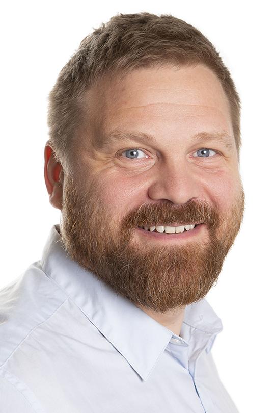Porträtt på Anders Sterner.