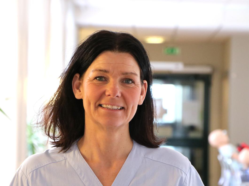 Susanne prisas för stödet till kollegorna under pandemin