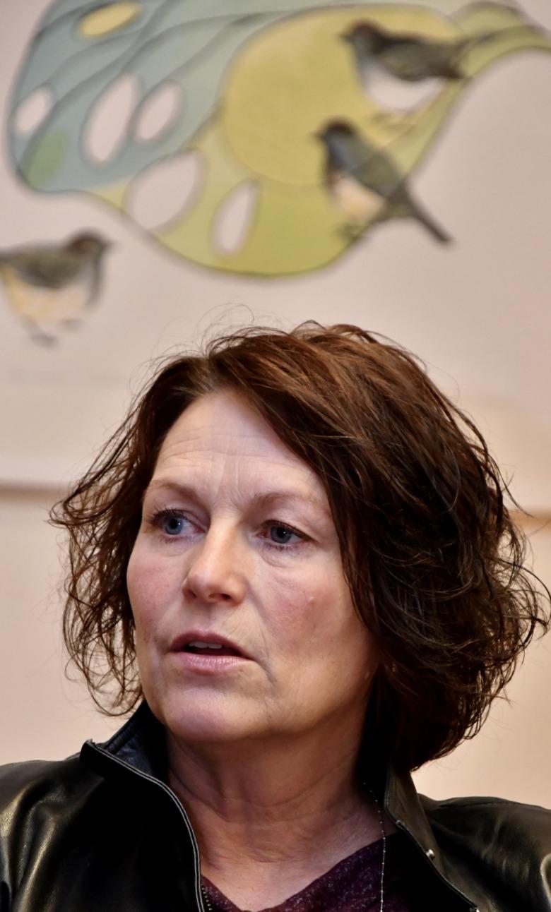 Camilla Gustafsson, ordförande Vårdförbundet Värmland