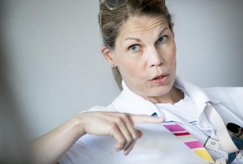 Karin Frisell, överläkare Mälarsjukhuset