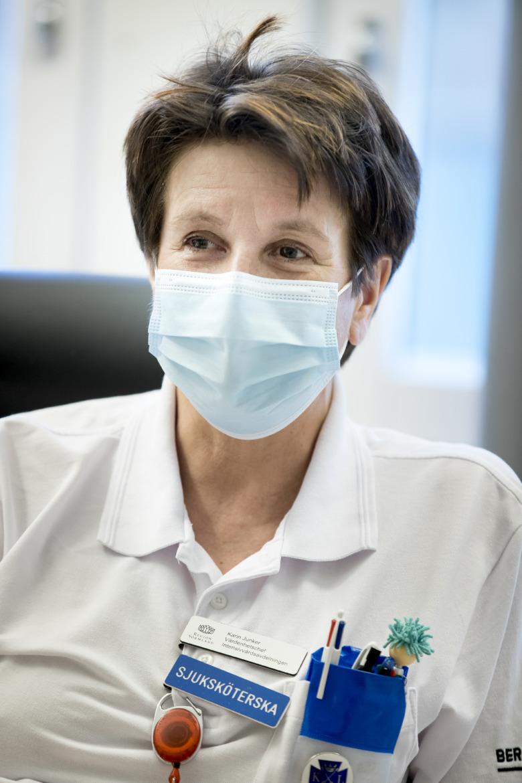 Karin Junker, vårdenhetschef iva Mälarsjukhuset