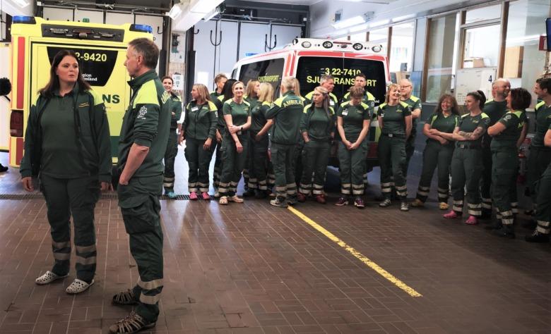 Ambulanssjuksköterskor i Arvika