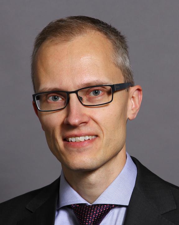 Nils Dahlström, universitetslektor.