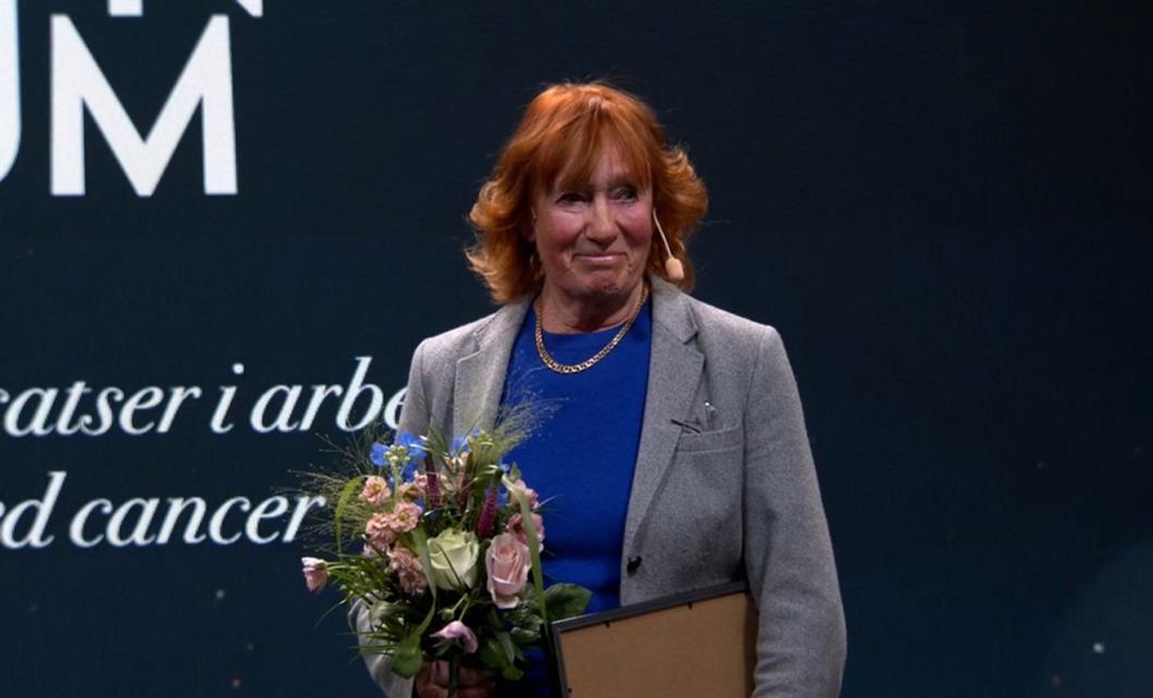 Sjuksköterskan bakom Nordens första barnhospice prisas