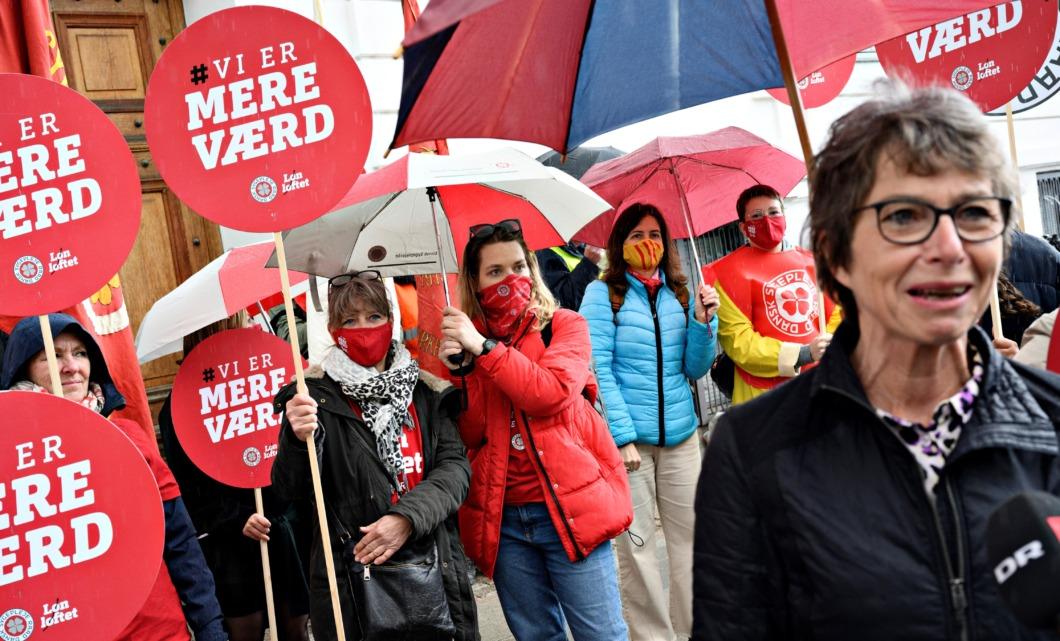Sjuksköterskefacket i Danmark säger ja till medlarbud