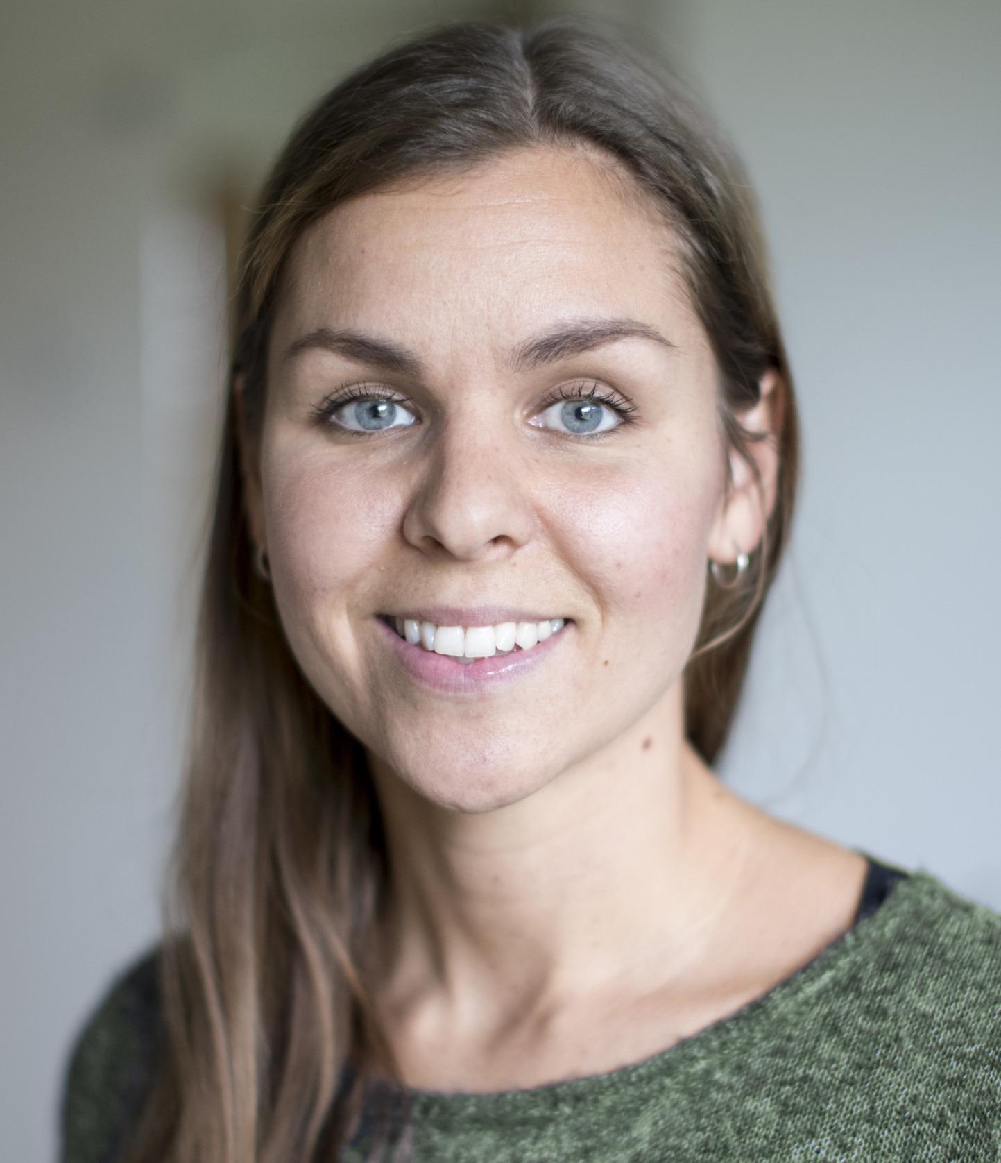 Porträtt på forskaren Lina Ejlertsson