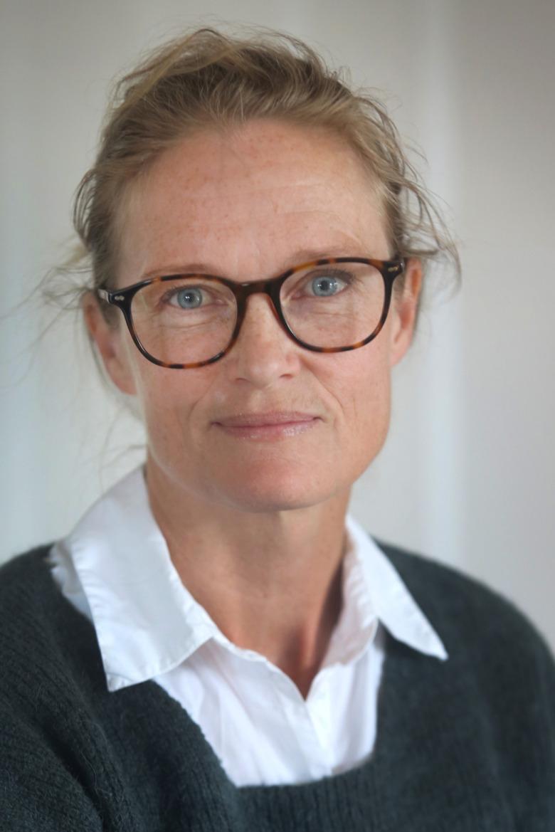 Porträtt på KArin Högberg