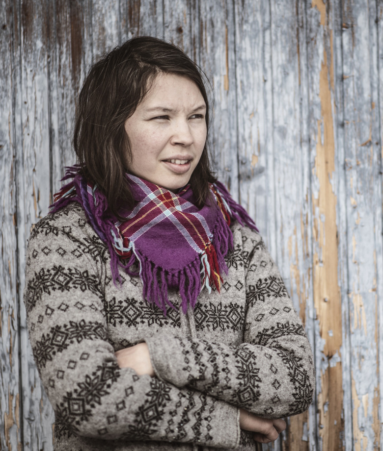 Marja-Kristine Oskal, renägare och distriktssköterska,