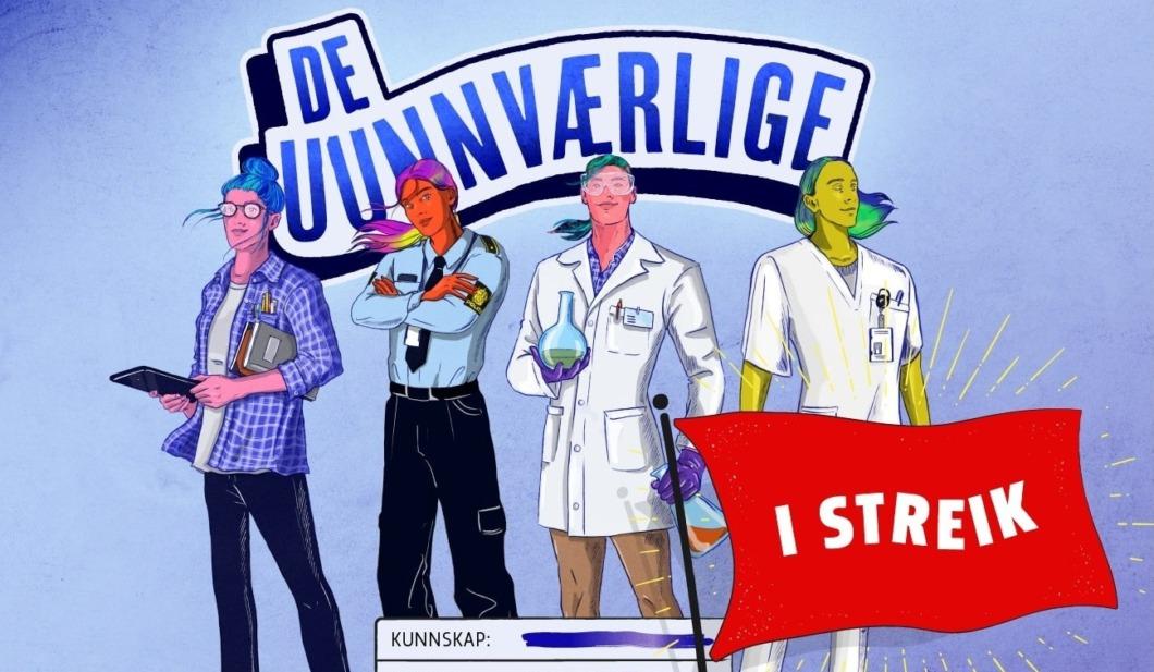 Nu strejkar norska sjuksköterskor för högre löner