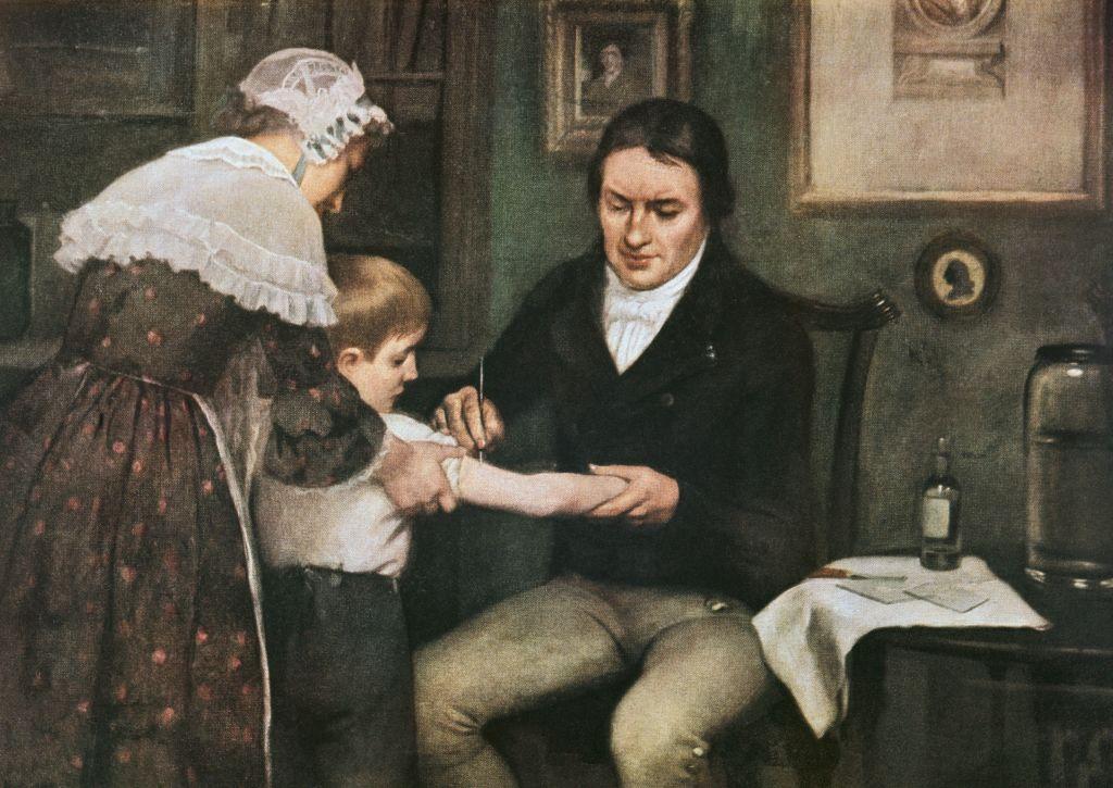 Sju scener ur vaccinets historia
