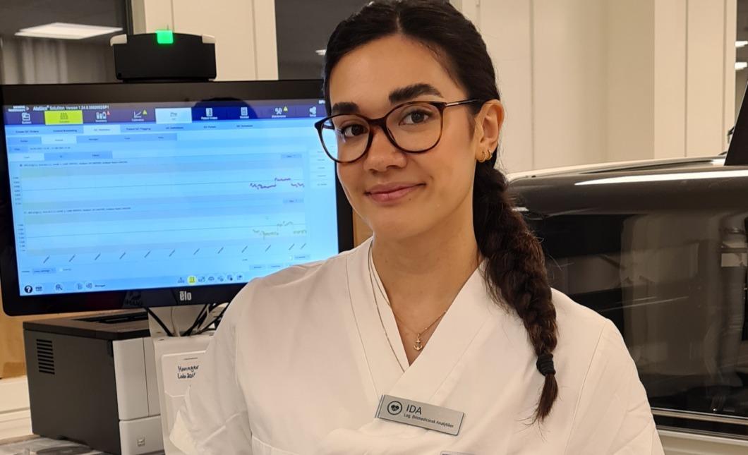 Ida lämnar labbet efter bara tre år i yrket