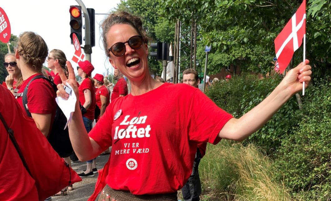 Danska sjuksköterskor strejkar för rättvisa löner