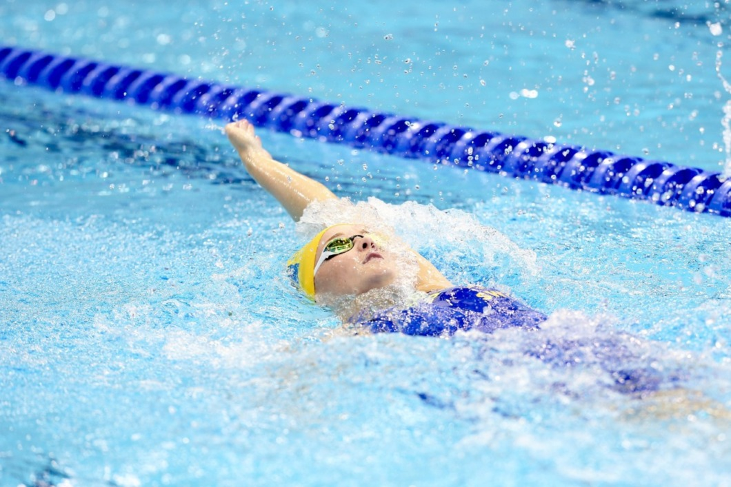 Sjuksköterska simmar för final i Paralympics