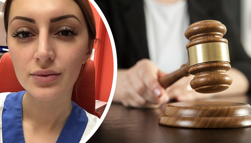 Sjuksköterskan attackerades av besökare – brottet preskriberades