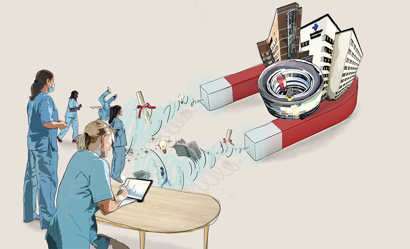 Nu laddar sjukhusen med magnetkraft
