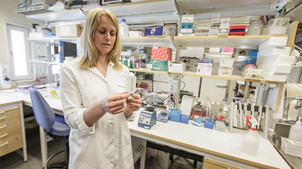 Pandemin gjorde forskaren Julia till företagare
