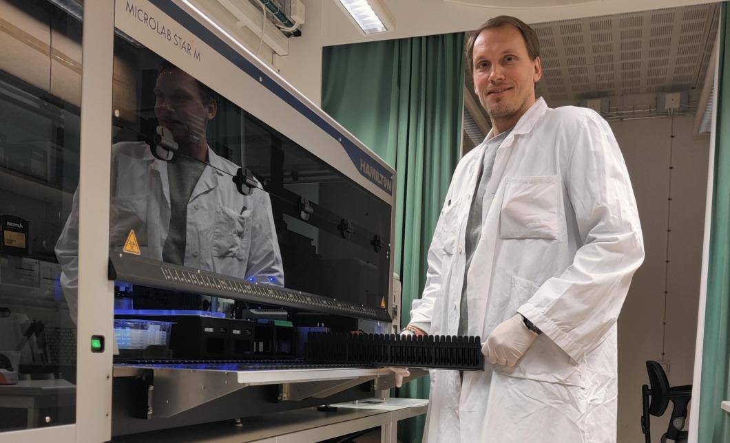 Roboten Hamilton ger snabb analys av antikroppar