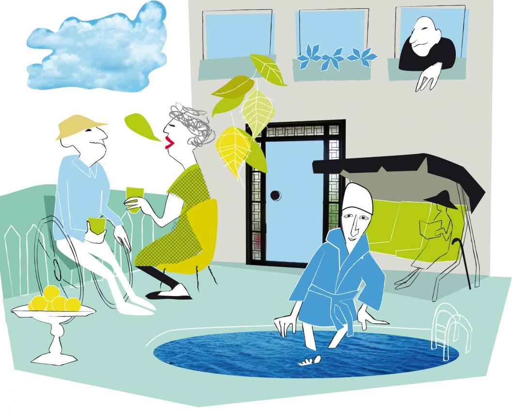 Tema Äldres hälsa. Tidig kontakt kan vara nyckeln till framgång