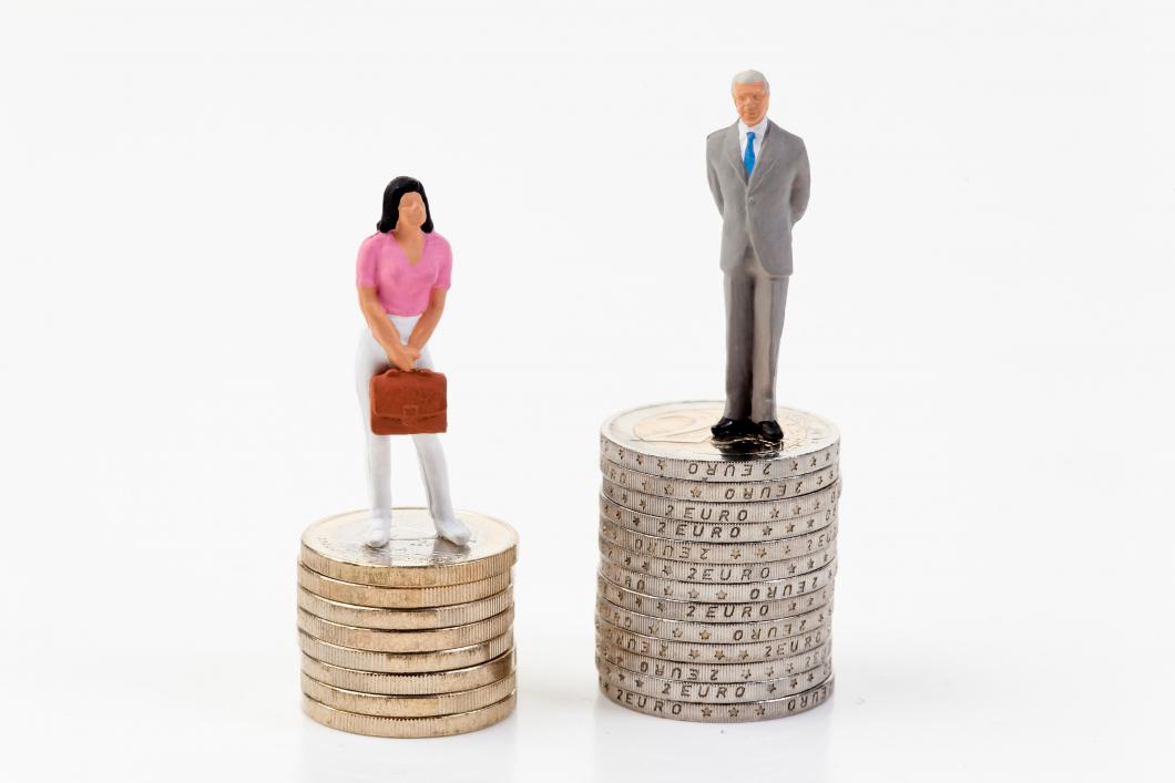 Den oförklarade löneskillnaden mellan könen har minskat
