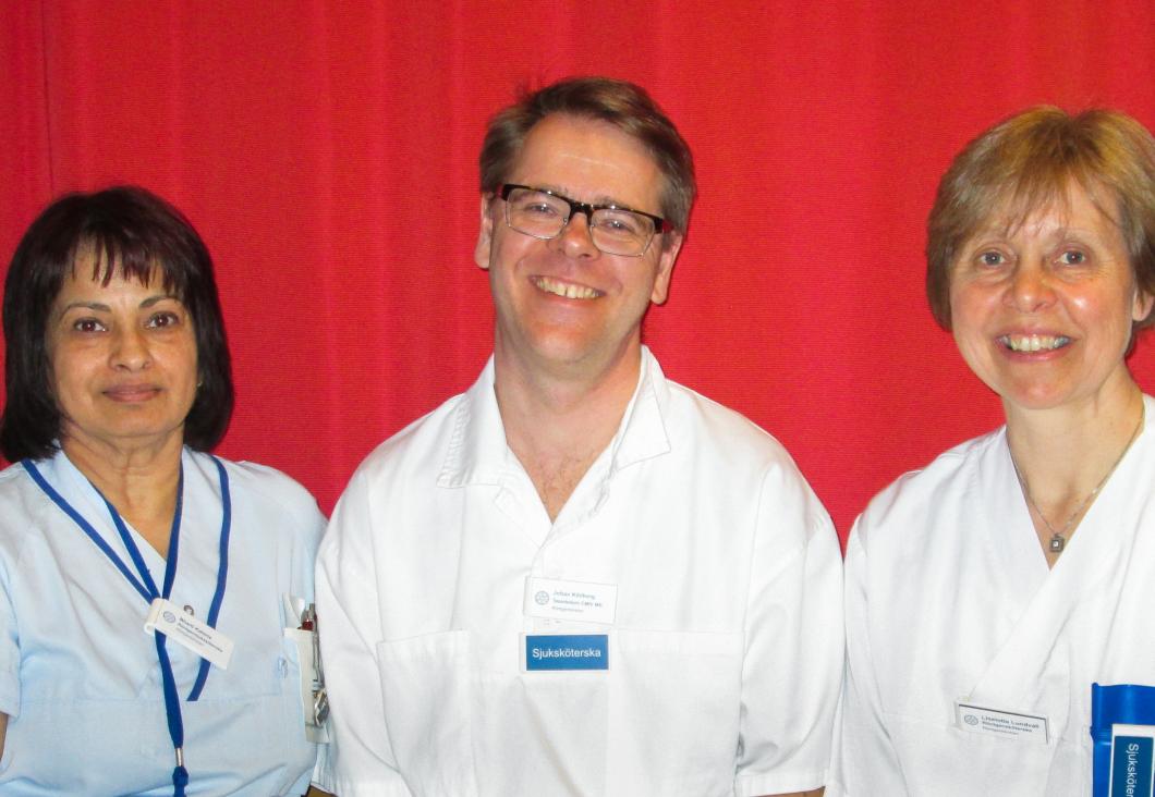 Röntgensjuksköterskor i Linköping uppmuntras att forska mer