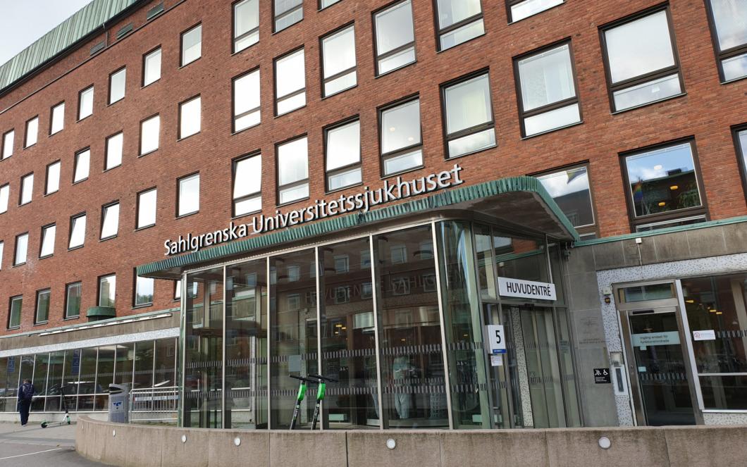 Fler patienter än under första vågen på Sahlgrenska
