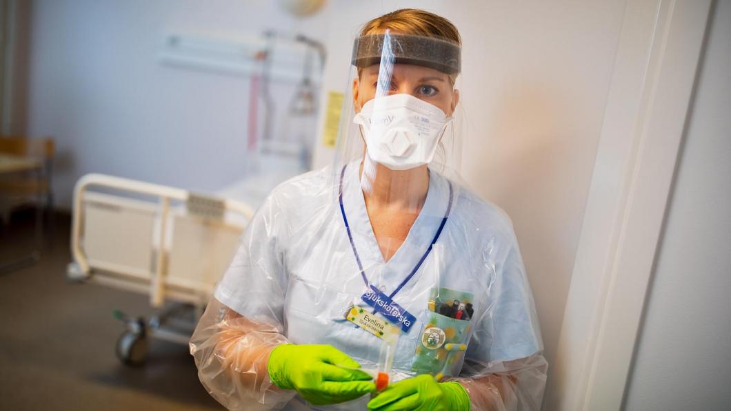 Hon vårdade den första svenska patienten med corona