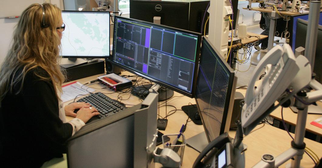 Larmcentral tar hjälp av artificiell intelligens