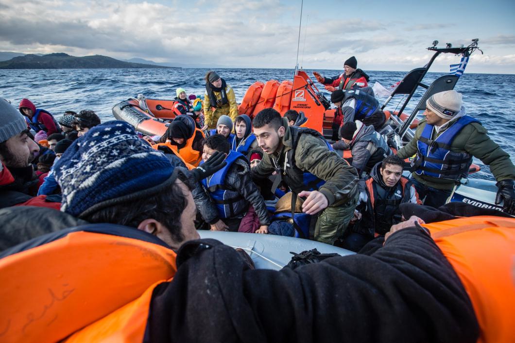 """""""EU skyddar gränser – inte människor"""""""