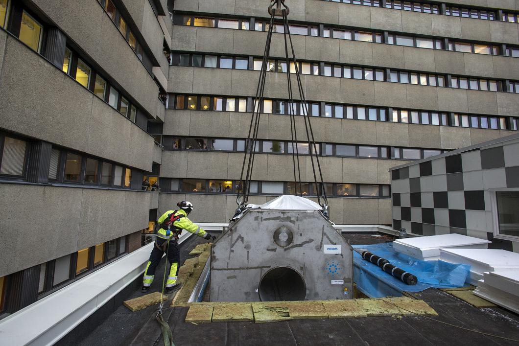 Sverige har fått sin första supermagnetkamera