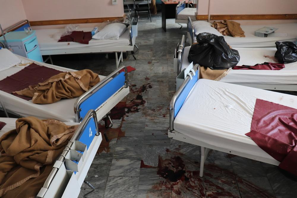 Läkare utan gränser stänger kvinnoklinik efter brutal attack