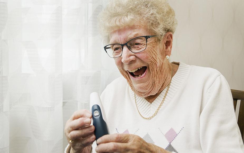 Patientens roll stärks med nya tekniska hjälpmedel
