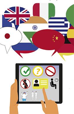 Röntgenfraser på 30 olika språk