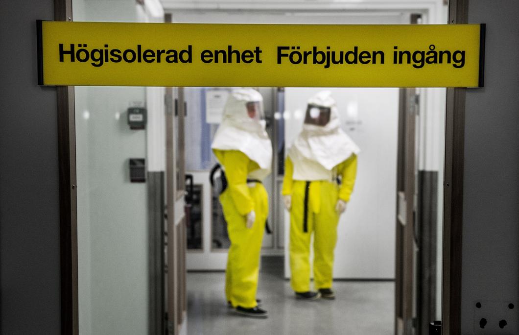 Fler sjukhus ska kunna ta emot extremt smittsamma patienter