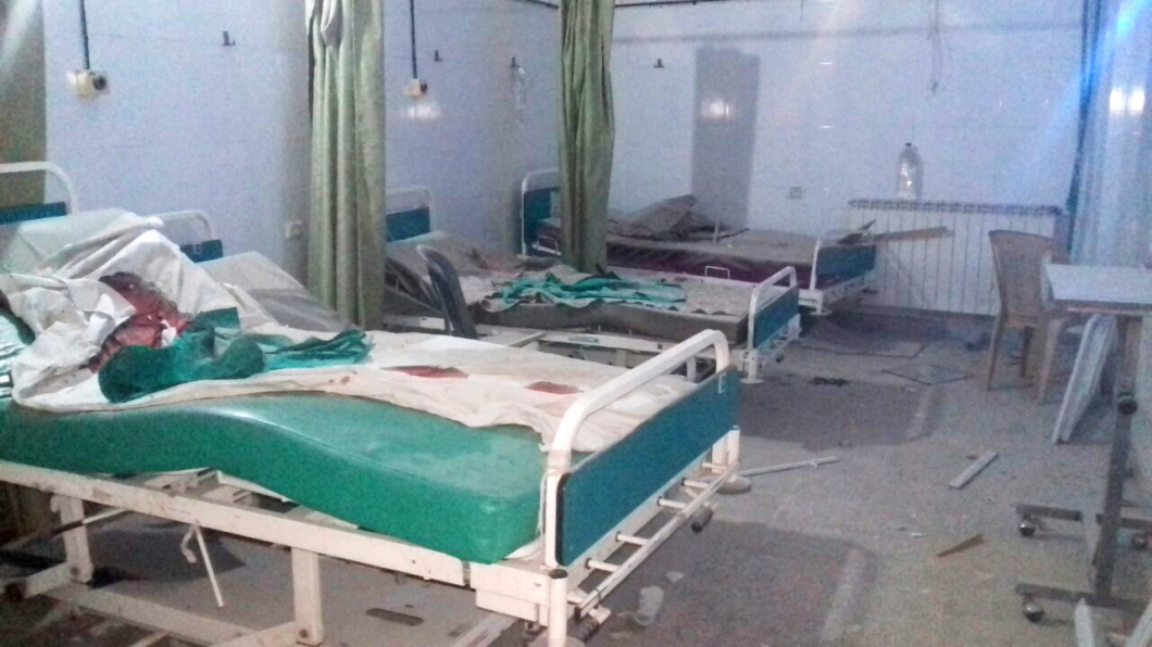 """Ny rapport: """"Ryssland bombade Aleppos största sjukhus"""""""